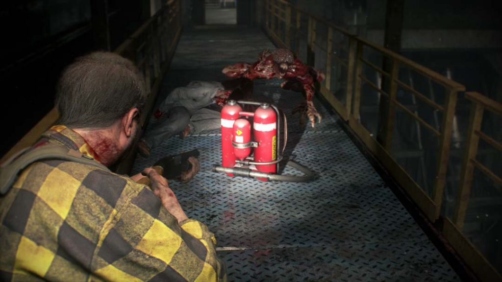 4 11 1024x576 - 『バイオハザードRE:2』の銃砲店の店主が生きていたら? っていう追加DLCが本日無料で配信