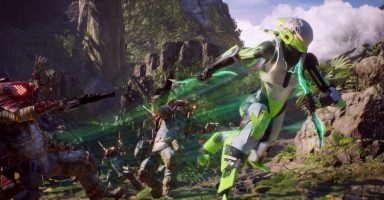 ANTHEM LAUNCH SCREENSHOT 04 FINAL 16x9 1 hero 384x200 - 朗報、開発者よりAnthemはXBOX ONE Xでもっとも最適化している