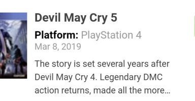 GNuo18F 384x200 - Devil May Cry5 メタスコア86