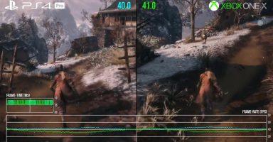 SZ1n6As 384x200 - 【悲報】隻狼、PS4 Proでも40fps
