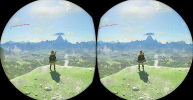 """production notes35 image04 384x200 - ゼルダブスザワ開発者「ハイラルの世界を""""おかわり""""してもらいたくて、VR対応にした」"""