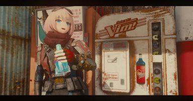 1 384x200 - 『Fallout 4』キャラをアニメ顔にするModのクオリティーが高い