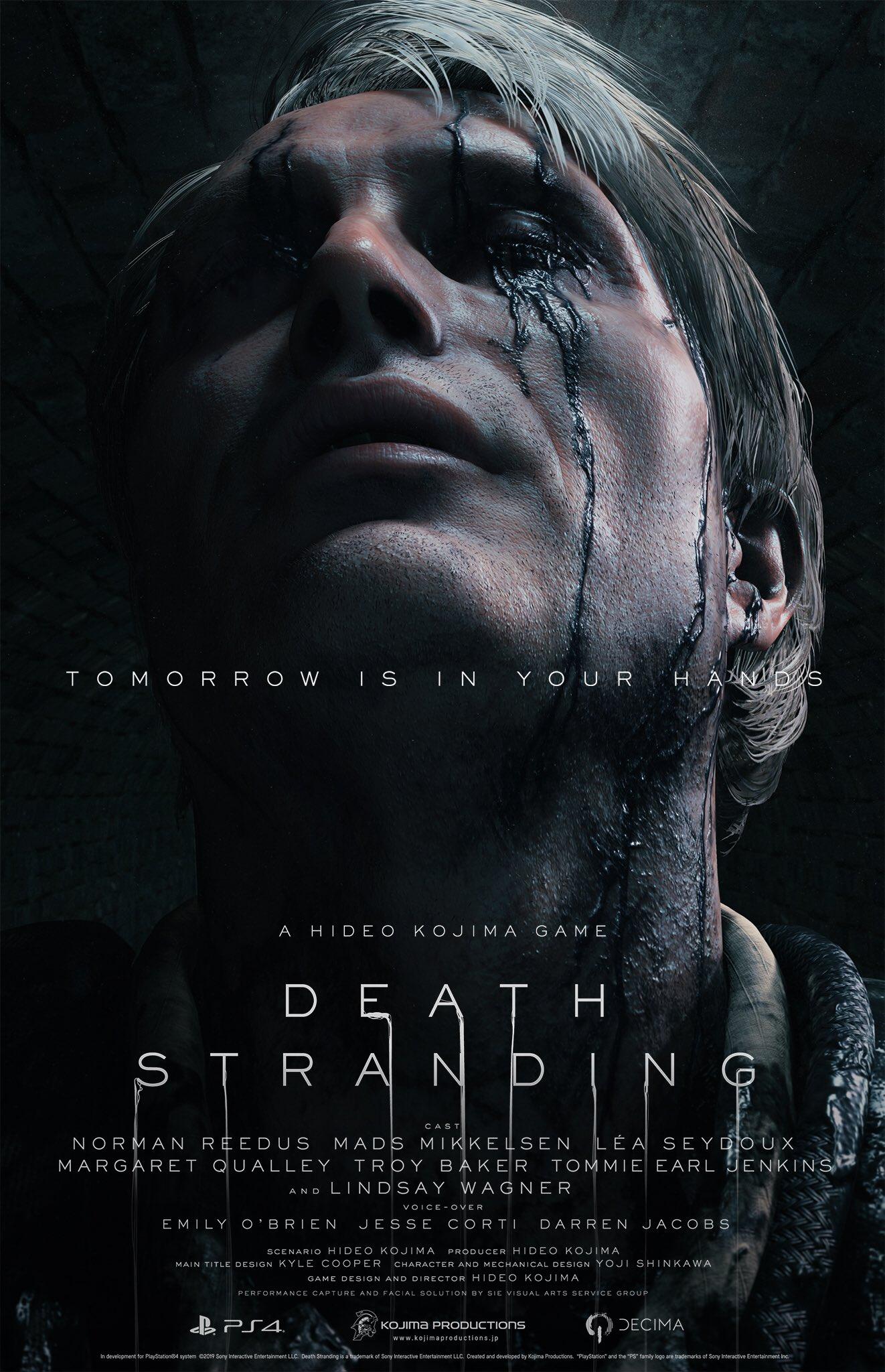 4 20 - 小島秀夫監督の『デス・ストランディング』発売日が11月8日に決定! 最新トレーラーも公開。神ゲーオーラに震えろ