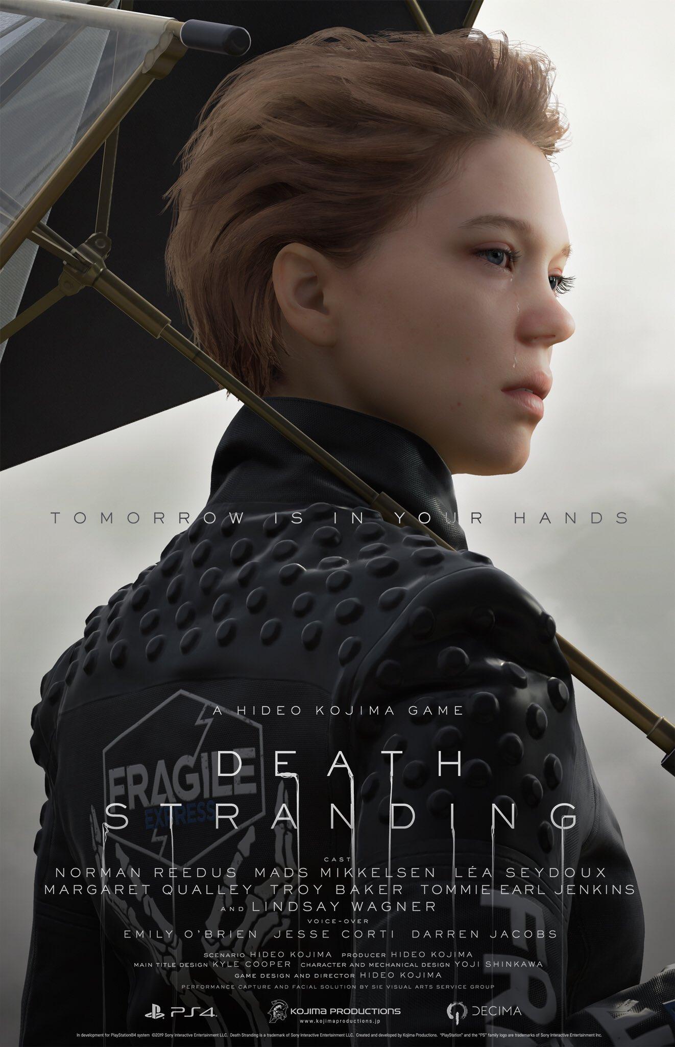 5 13 - 小島秀夫監督の『デス・ストランディング』発売日が11月8日に決定! 最新トレーラーも公開。神ゲーオーラに震えろ