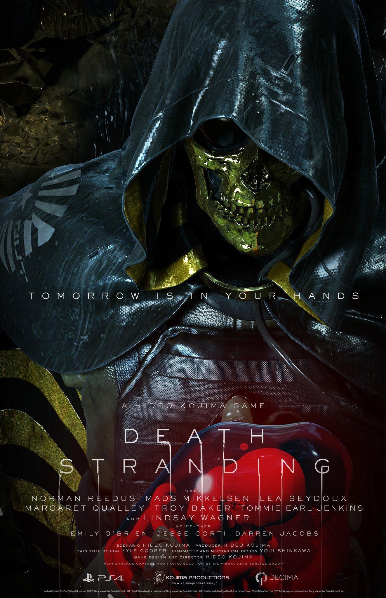 6 5 - 小島秀夫監督の『デス・ストランディング』発売日が11月8日に決定! 最新トレーラーも公開。神ゲーオーラに震えろ