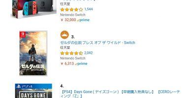 6GkSo3h 384x200 - 【朗報】PS4『Days Gone』、Amazonランキング4位と驚異のジワ売れをする