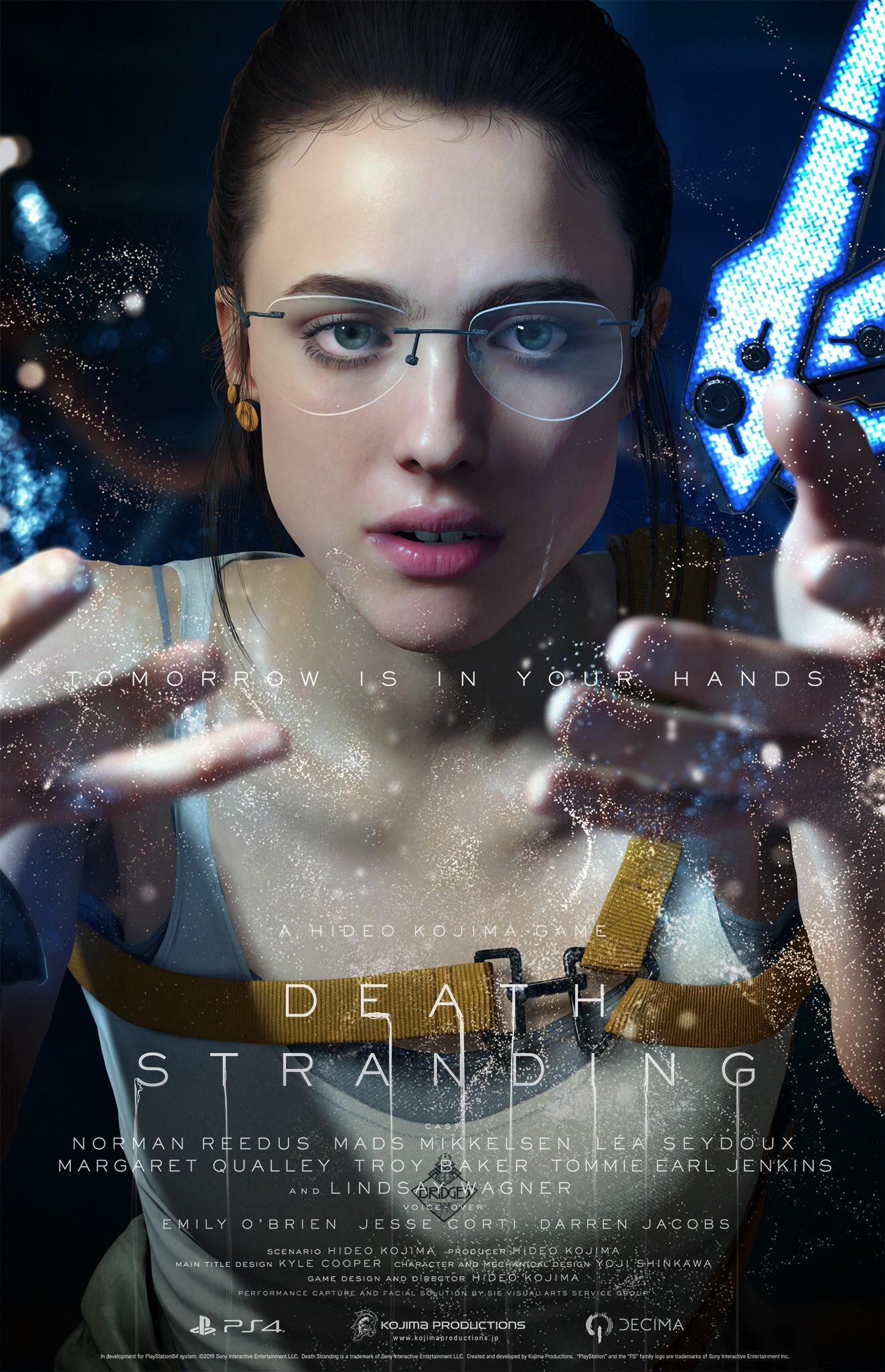 7 3 - 小島秀夫監督の『デス・ストランディング』発売日が11月8日に決定! 最新トレーラーも公開。神ゲーオーラに震えろ