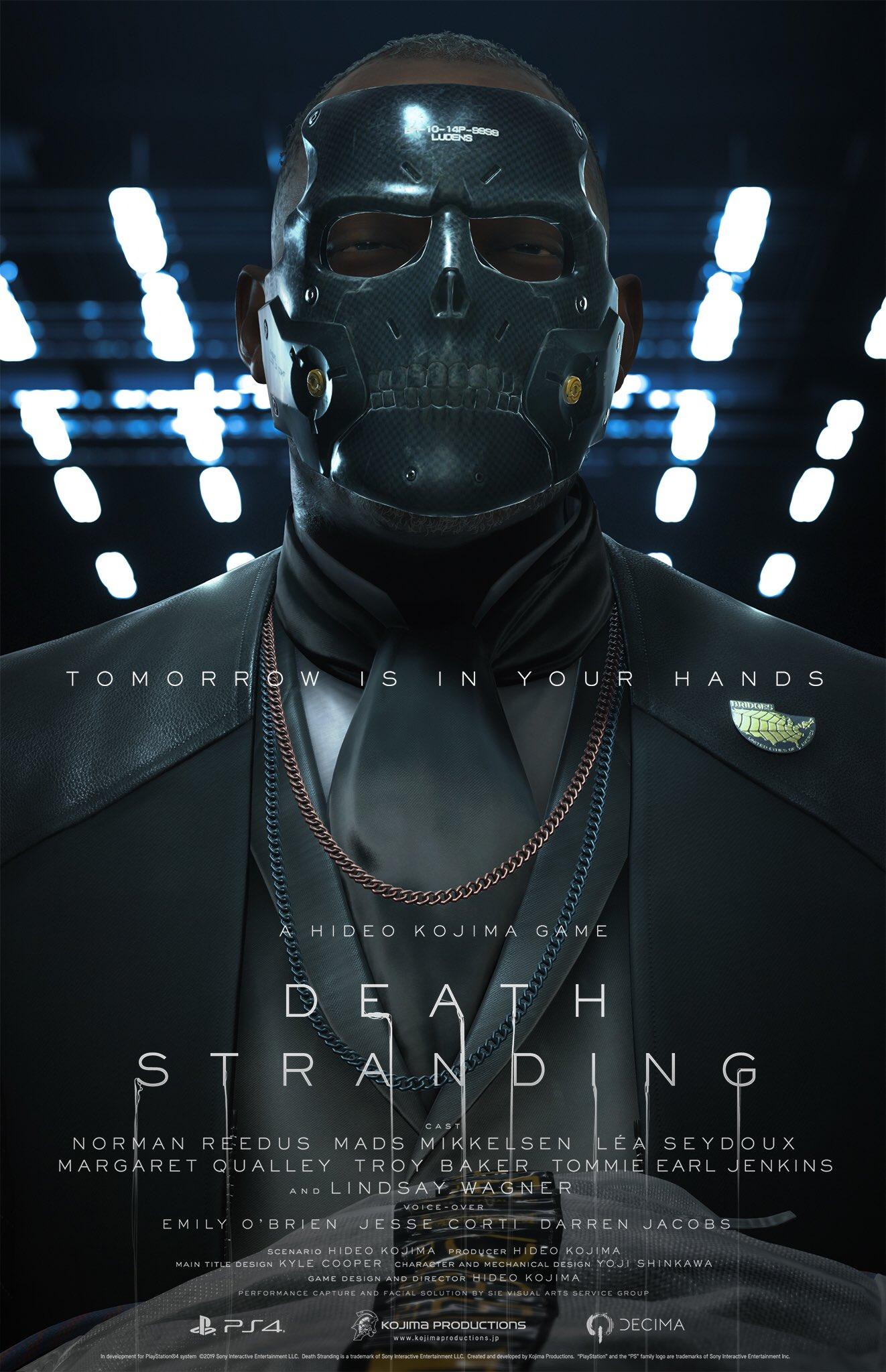 8 1 - 小島秀夫監督の『デス・ストランディング』発売日が11月8日に決定! 最新トレーラーも公開。神ゲーオーラに震えろ