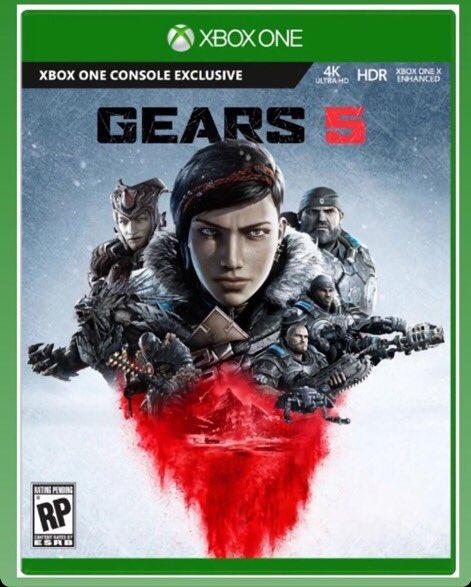 Xbox one、ギアーズオブウォー5のジャケットイラストが公開!