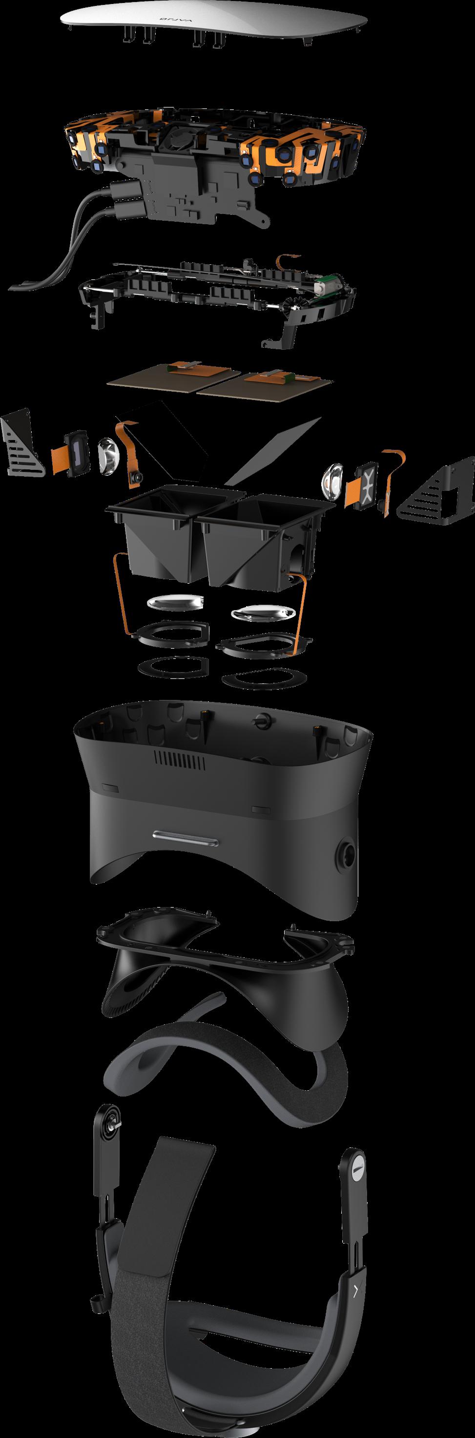 VR 1 Explosion 9e359d9d - 【画像】65万円するVRヘッドセットの画質が凄すぎる