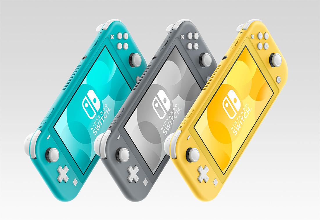 1562761790608 - 任天堂、携帯専用「Nintendo Switch Lite」発表。9月20日発売