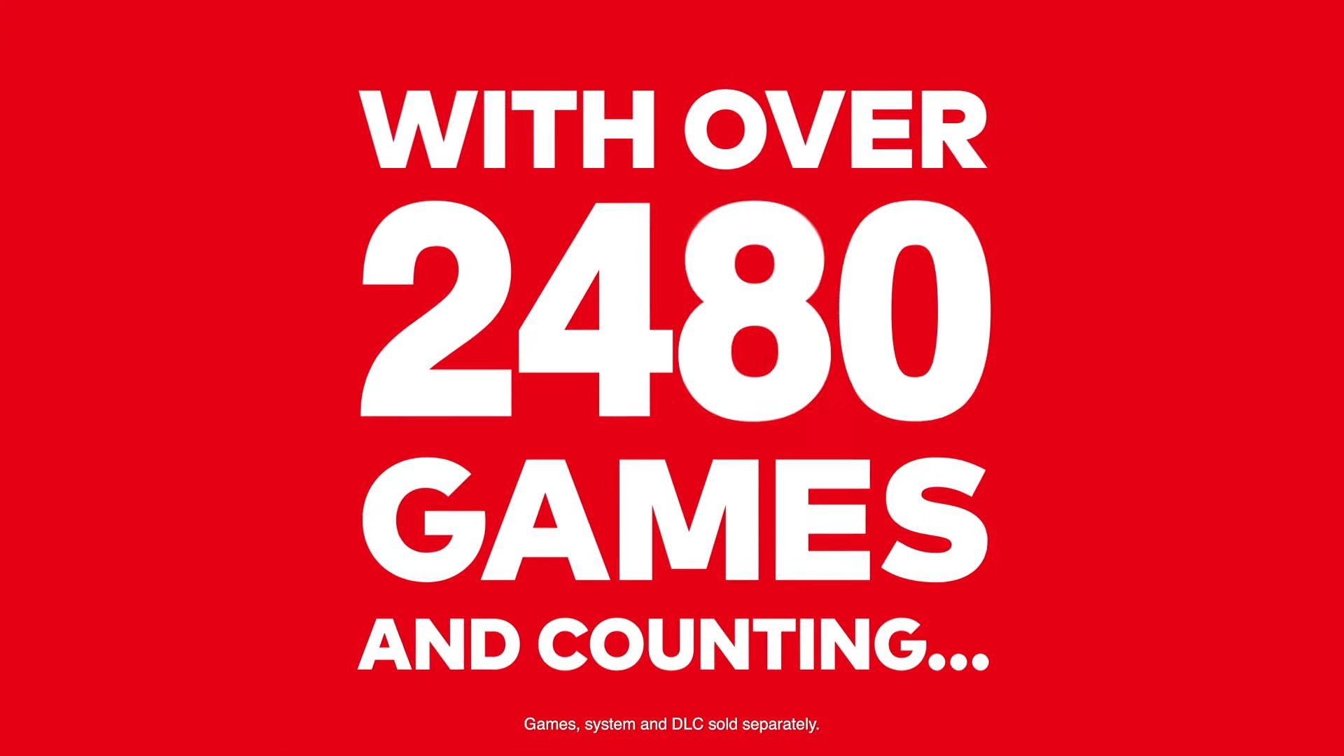 18ifsui 1 - 任天堂「Nintendo Switchには2480本以上のゲームタイトルがある!」