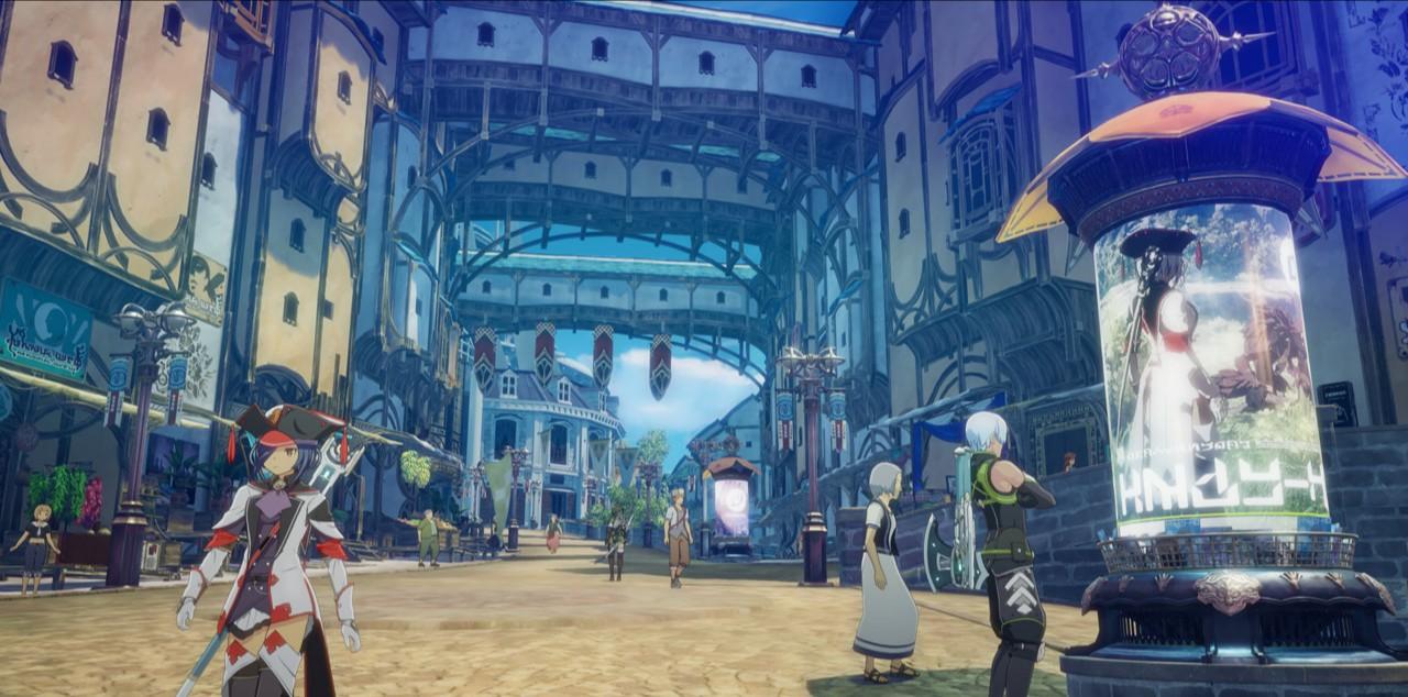 5dibNuE - 【朗報】バンナム新作PCゲー「ブループロトコル」が最先端のアニメ風グラを実現