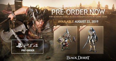 DXC6iRcD - 【PS4】MMORPG「黒い砂漠」の発売日が8月23日に決定!!