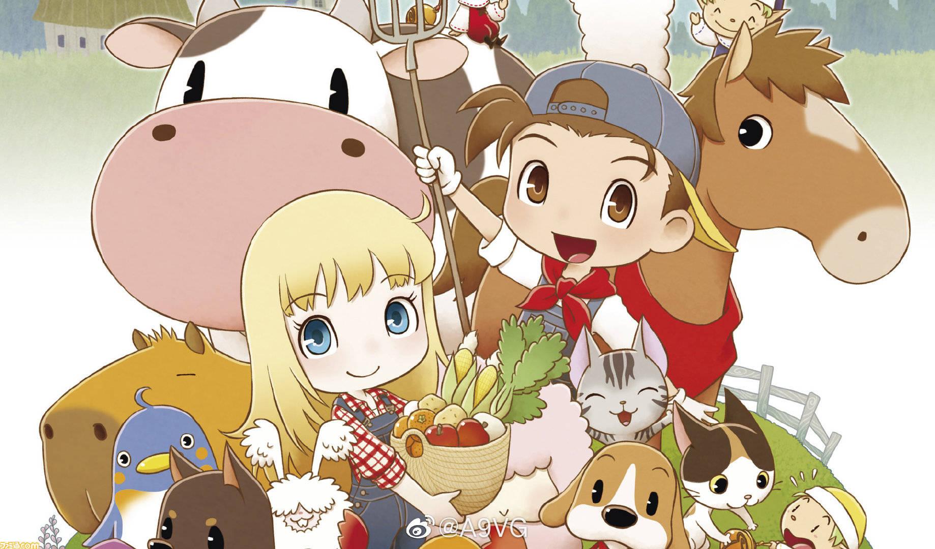 JPGlgIk - 牧物シリーズ最新作、Switch『牧場物語 再会のミネラルタウン』が2019年10月17日に発売決定!