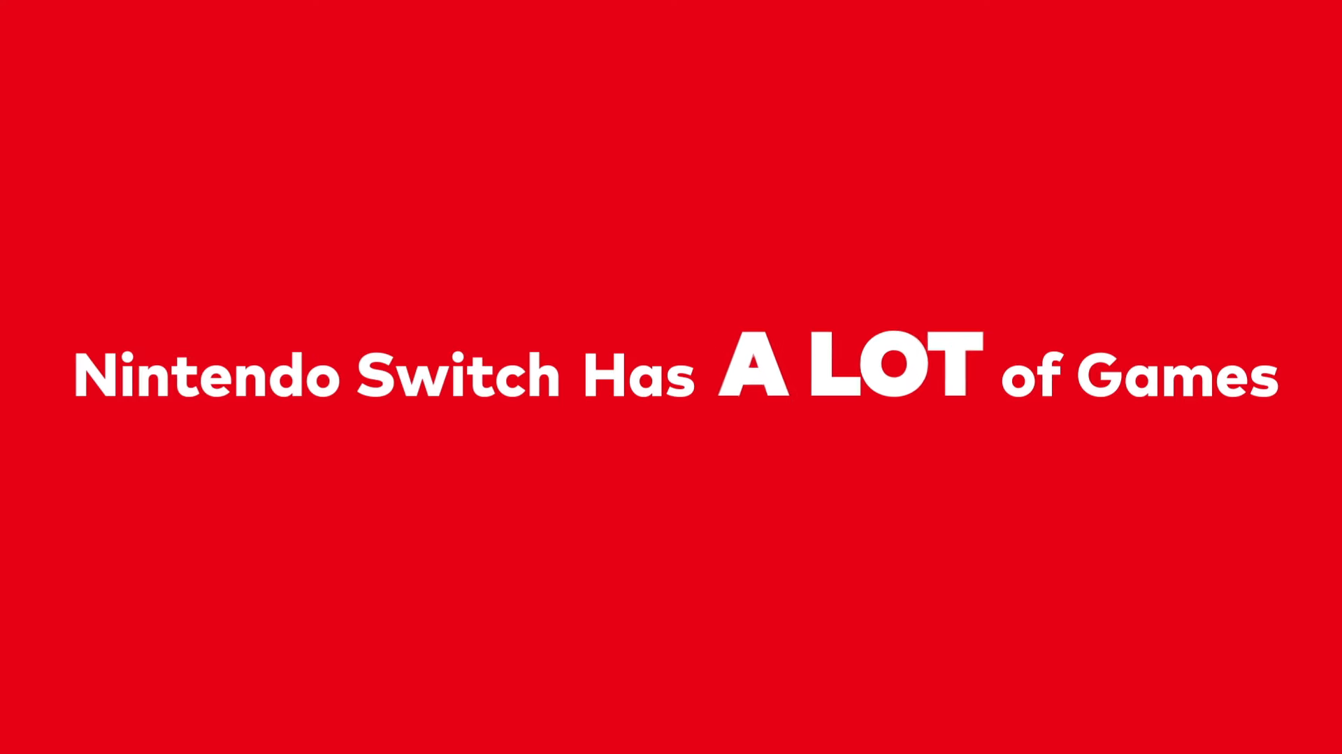 QhD3r8K - 任天堂「Nintendo Switchには2480本以上のゲームタイトルがある!」