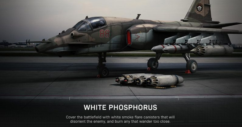 "Modern Warfare White Phosphorus 796x417 - 【悲報】人気FPS『Call of Duty』のキルストリークに""白リン弾""が登場することが分かり「戦争犯罪ゲーム」と大炎上 核兵器はいいのか…"