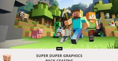 yu minecraft1 384x200 - マインクラフトの4K HDR計画「Super Duper」断念、iPhoneやSwitchに比べAndroidの性能が悪すぎたため