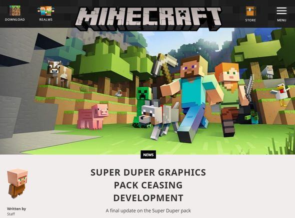 yu minecraft1 - マインクラフトの4K HDR計画「Super Duper」断念、iPhoneやSwitchに比べAndroidの性能が悪すぎたため