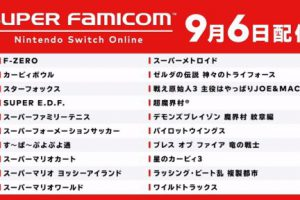 002 300x200 - 【Switch Online】SFCスーファミ一挙20作登場 マリオ マリカ ゼルダ神トラ カービィ3 F-ZERO等