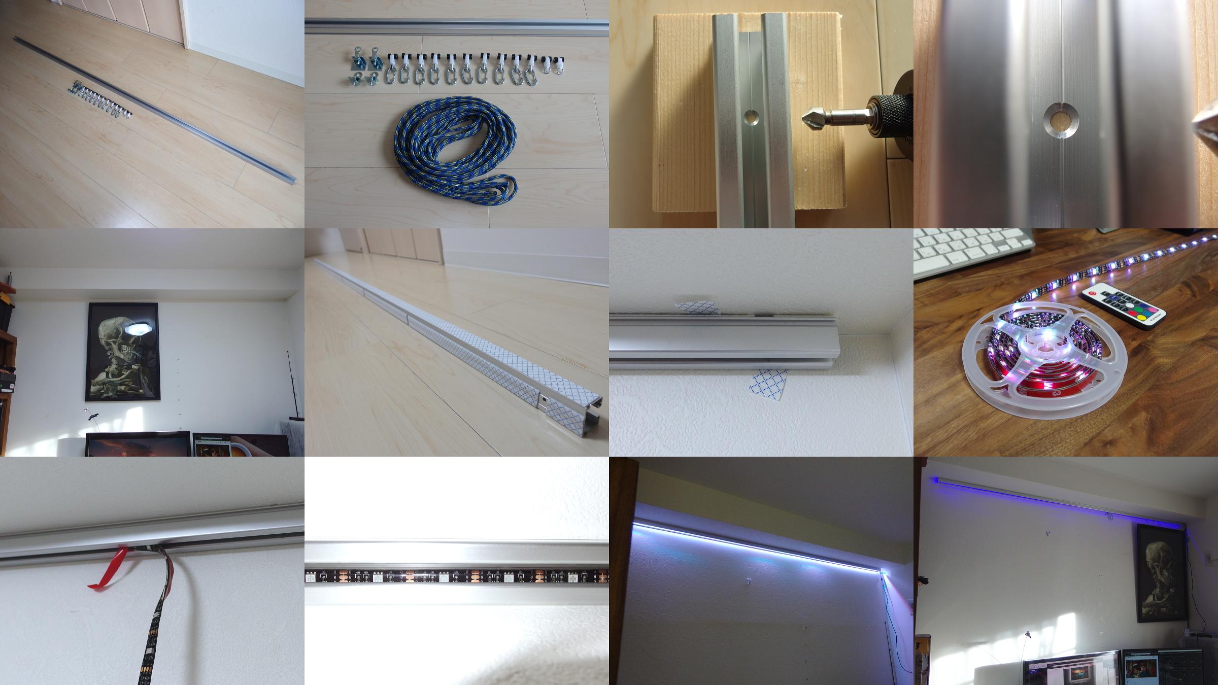 2 - 【画像】PCスレ民、とんでもない方法でモニターを設置してしまう