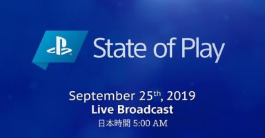 20190920 stateofplay thumbnail 384x200 - SONY  State of Play 第3回 放送決定