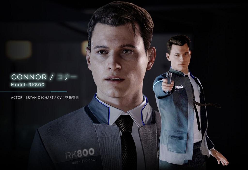 3 15 - 『Detroit:Become Human』コナーのジャケット風ジャージが登場! これを着れば冴えないケンモメンも冴えないおじさんになれるぞ!