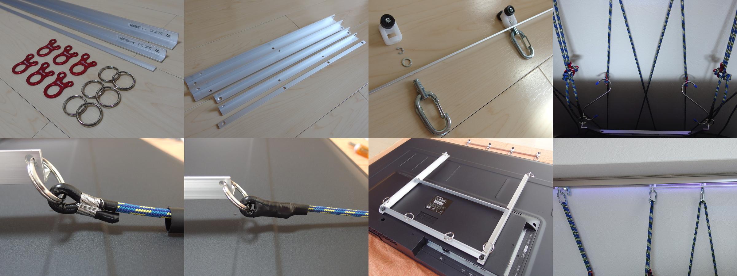 3 - 【画像】PCスレ民、とんでもない方法でモニターを設置してしまう
