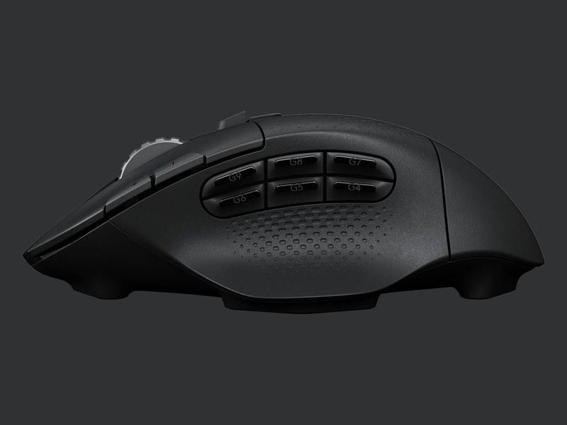 Logitech、サイドボタン6個の無線ゲーミングマウス「G604」 発表 99ドル