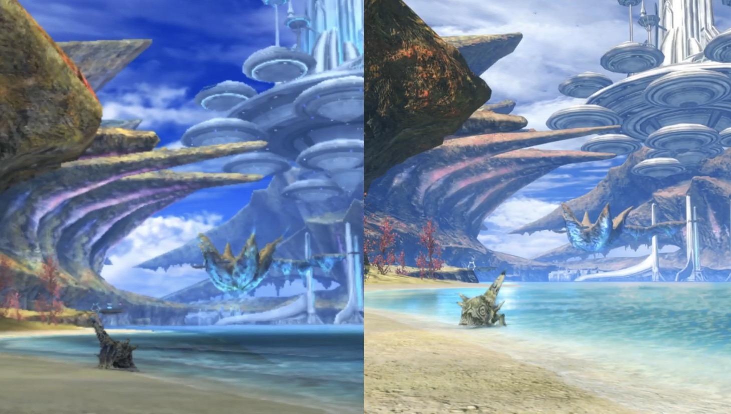 QrDynWq - 【朗報】ゼノブレイドDE、正確な画像比較によりフィールドも全面的に作り直されていたと判明する