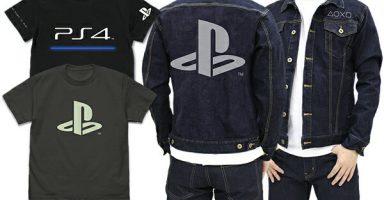 UN9NKLP 384x200 - 【朗報】PS4のロゴをあしらったTシャツとジージャンが格好良すぎる件