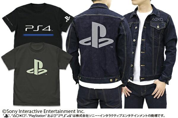 UN9NKLP - 【朗報】PS4のロゴをあしらったTシャツとジージャンが格好良すぎる件