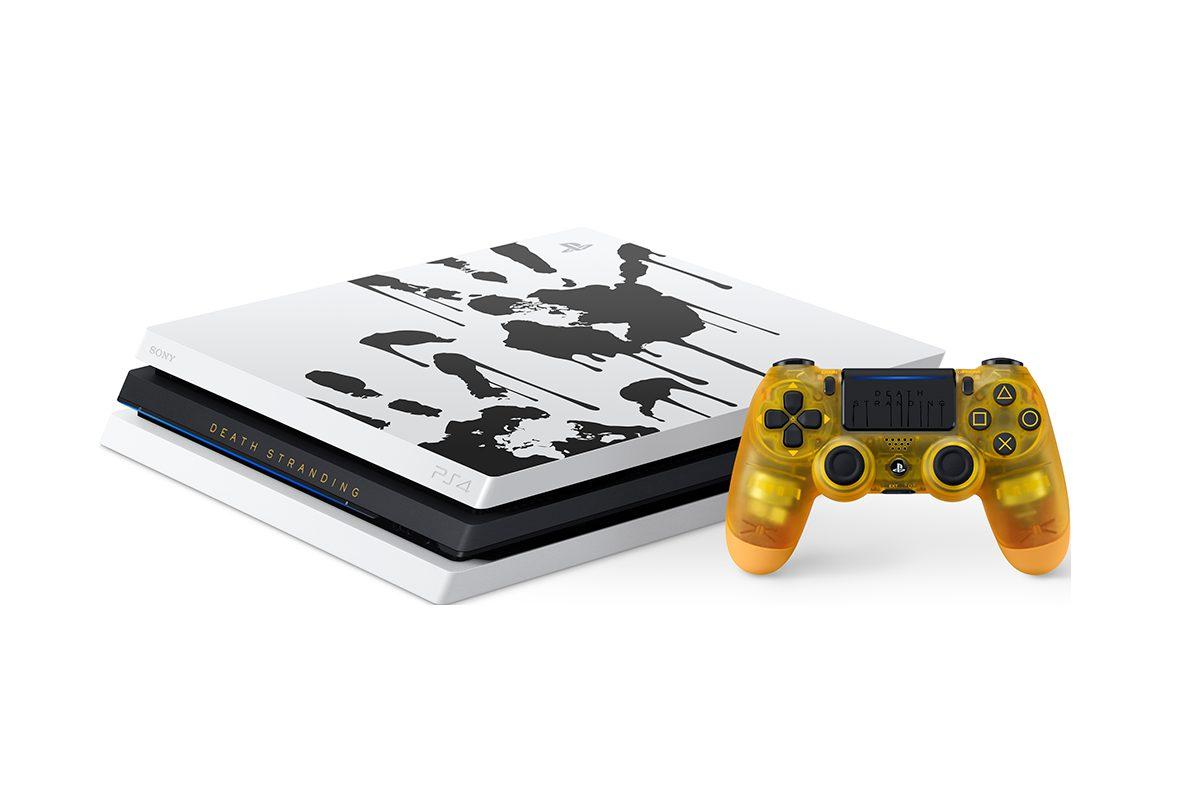 death stranding limited edition 1400px 03 a - PS4 Proさん、趣味が悪いデザインの本体を発売決定してしまう