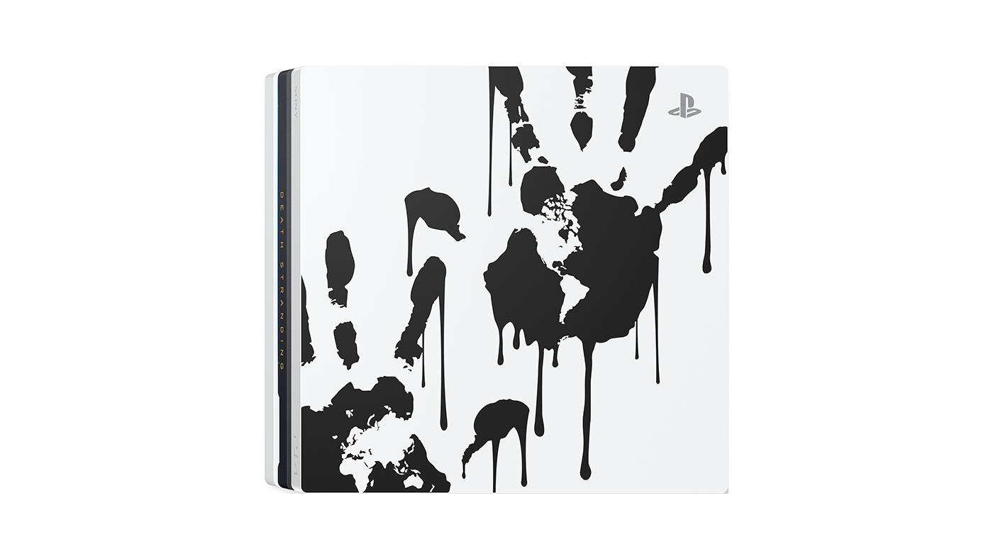 death stranding limited edition 1400px 04 a - PS4 Proさん、趣味が悪いデザインの本体を発売決定してしまう
