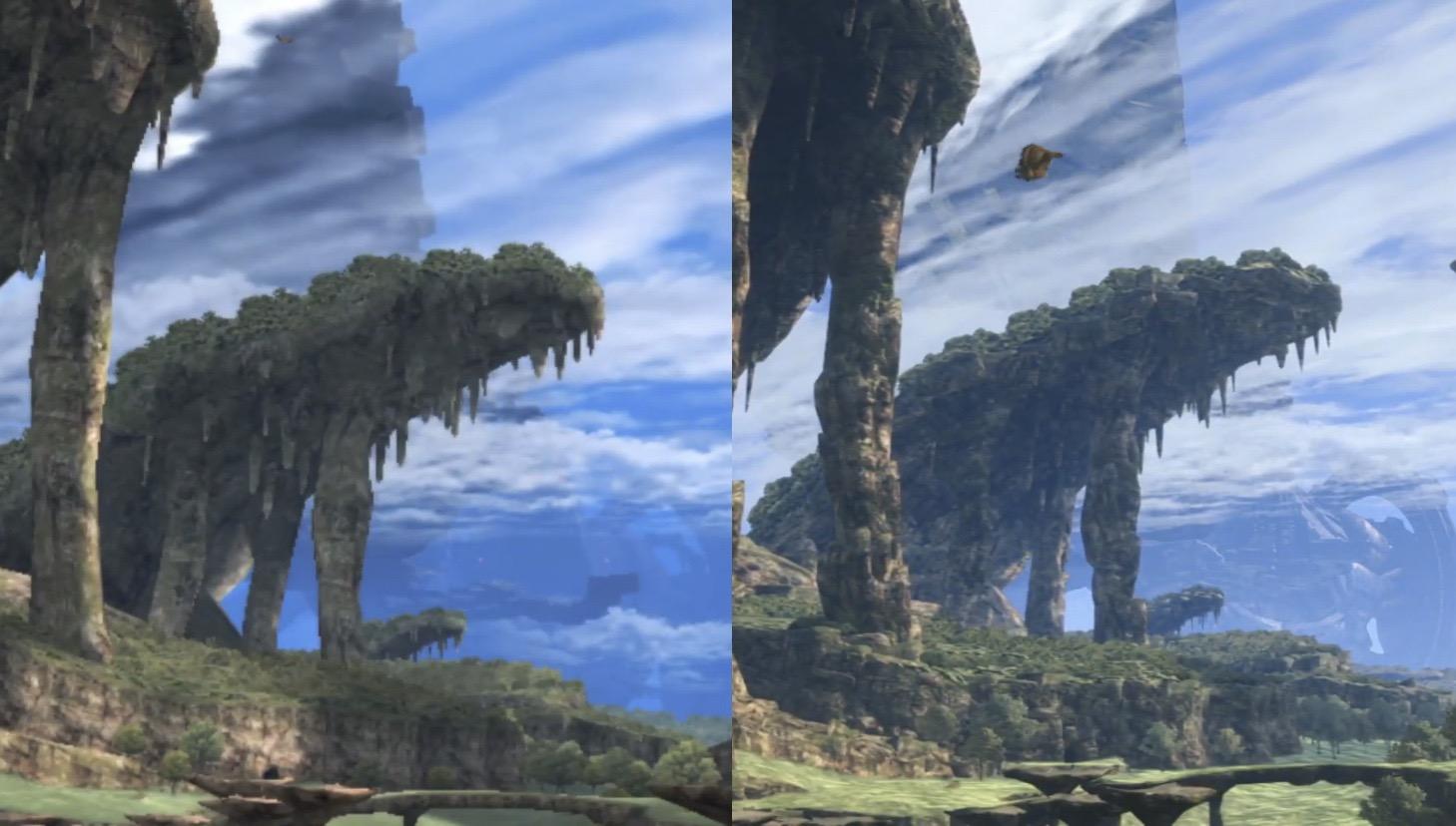 m5k0mXl - 【朗報】ゼノブレイドDE、正確な画像比較によりフィールドも全面的に作り直されていたと判明する