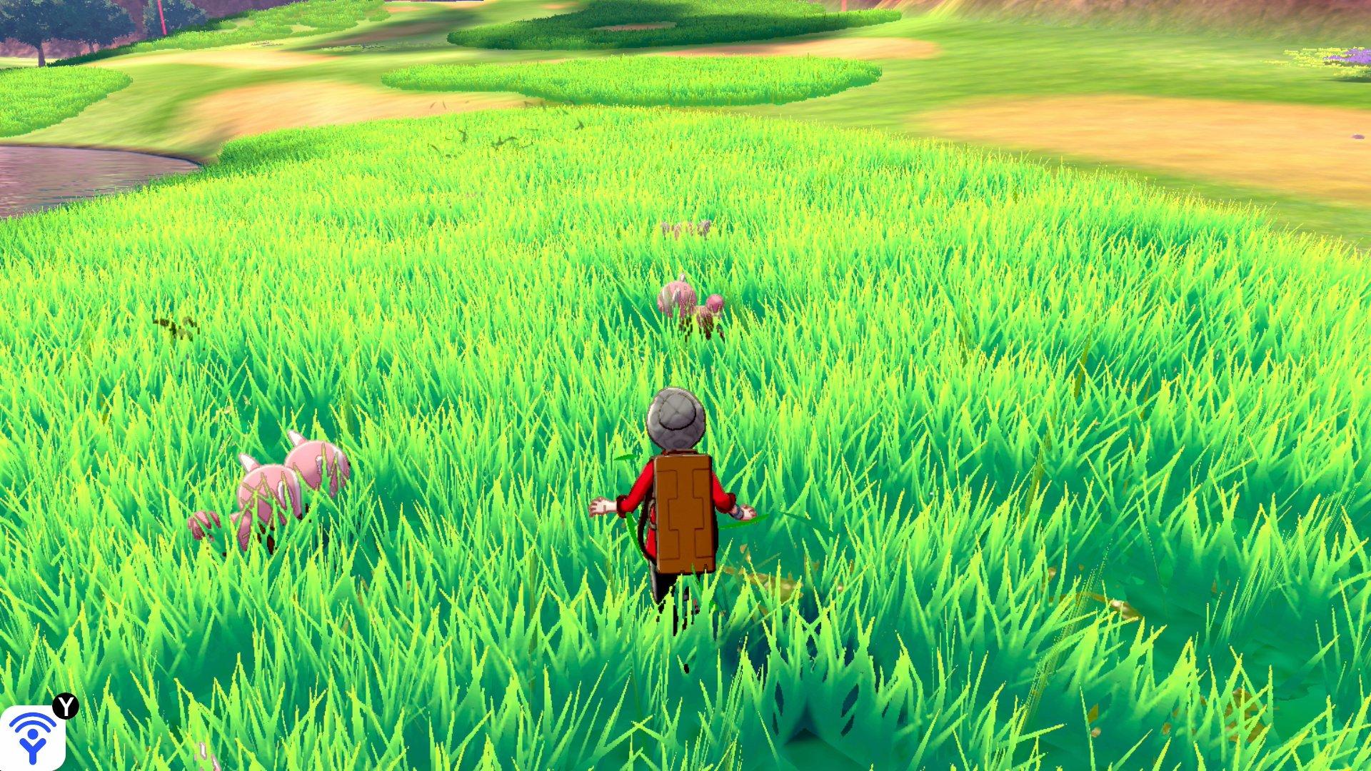 2 23 - 【朗報】ポケモン新作 草むらの作り込みに半年もかける力の入れようだった