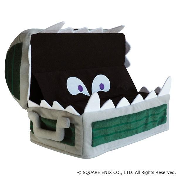 4 12 - ドラクエ「ミミック」のティッシュカバーが発売。蓋を閉じた状態にして「なんと 宝箱はミミックだった!」を再現可能