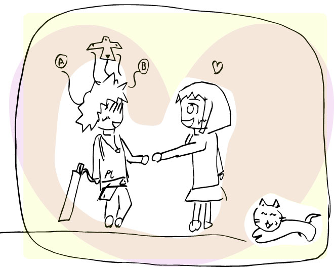 4 3 - NPCキャラクターの女の子の心情を描いた話が、深いと話題に・・・