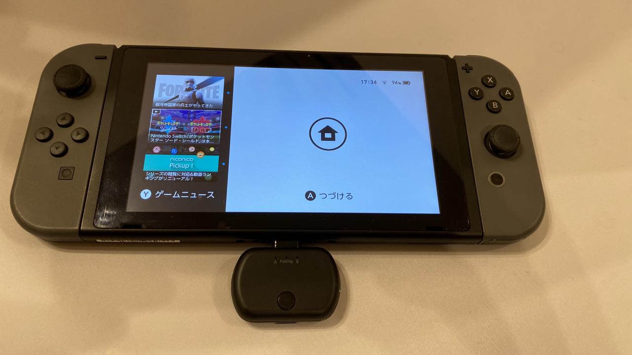 003 6 - Nintendo Switchをワイヤレスイヤホンで接続可能にする『BT-TM700』が登場 Switch以外にも使用可能