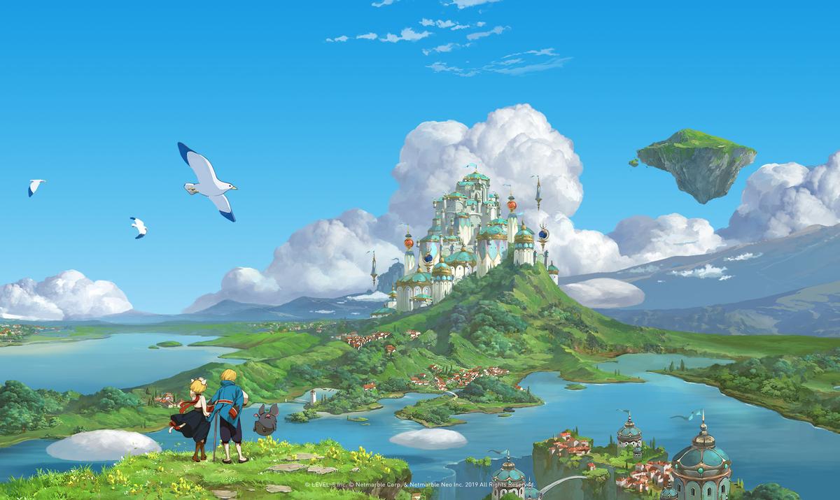 01 10 - 「二ノ国」まさかのMMORPG化 レベルファイブとネットマーブルの共同開発