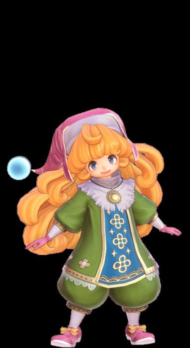 24 - 【悲報】聖剣伝説3リメイク、3D化によってバカみたいな衣装に見える