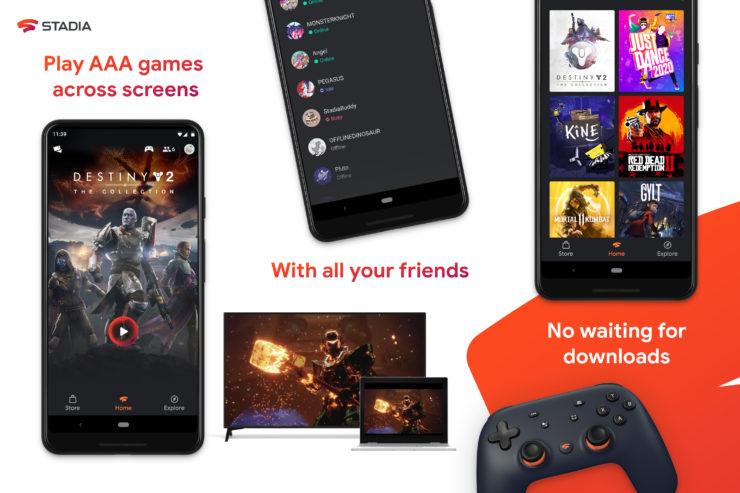 stadia app 740x493 - 【悲報】ゲーム業界を変えるGoogle「Stadia」、売上17.5万の大爆死