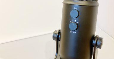 002 3 384x200 - ロジクールのUSBコンデンサーマイク『Yeti』が凄い 4つの録音パターンに切り替え可能!