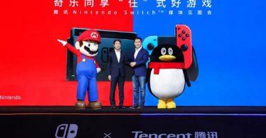 2019120580203 0 384x200 - Switchが中国で予約開始!9時間で10万台以上売れる