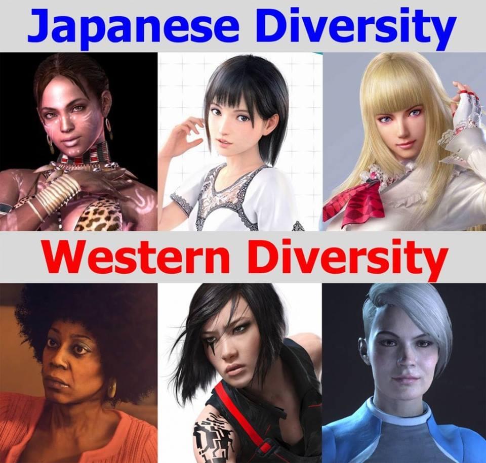 soikXsc - 外人さん「ティファがアジア人でマジギレ」「ポケモンのルリナが黒人かインド人かで大喧嘩」
