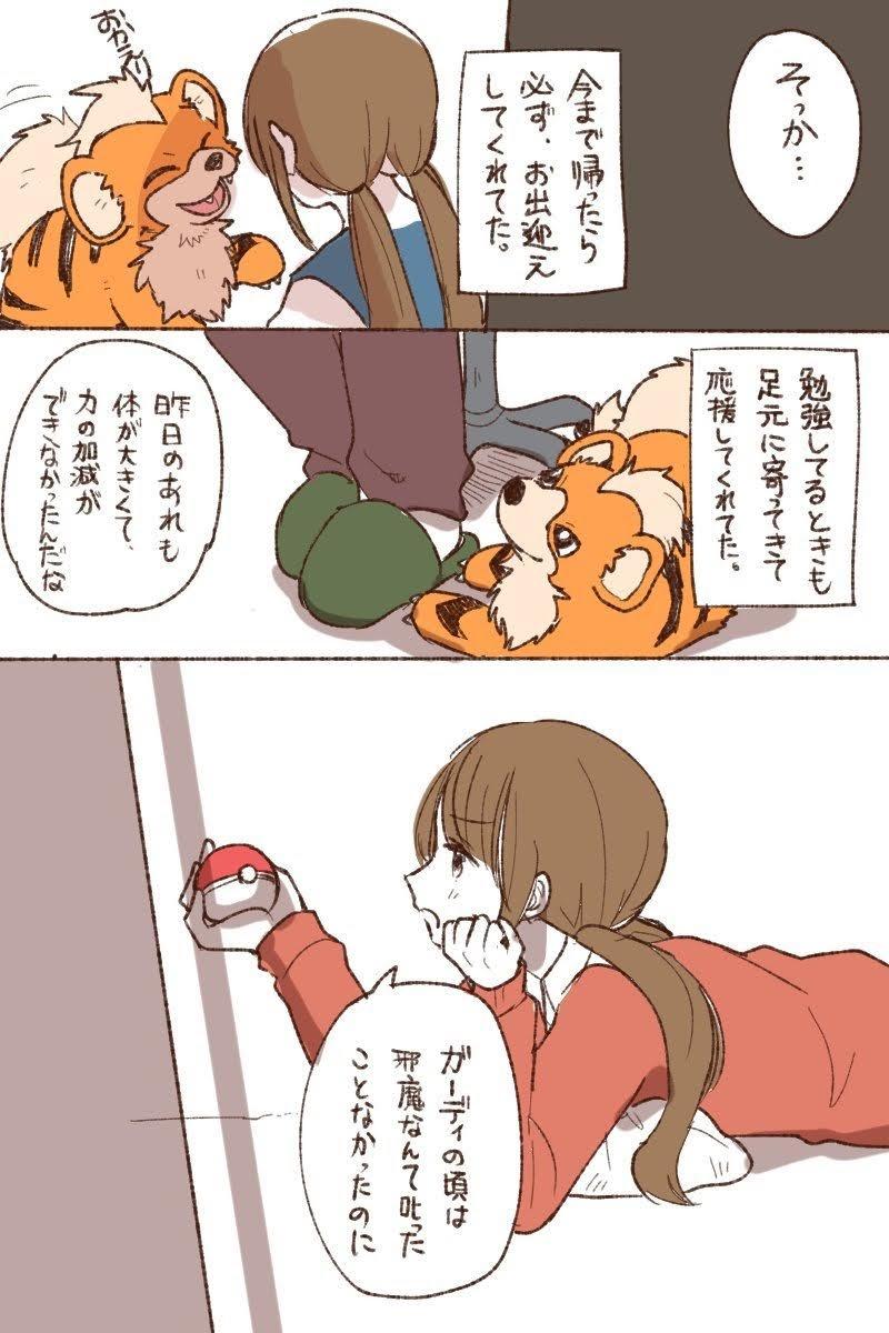 18 1 - 「ポケモン」のとんでもない感動漫画が描かれてしまう。