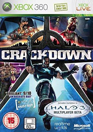 crackdown -  最 も ひ ど い パ ッ ケ ー ジ デ ザ イ ン の ゲ ー ム
