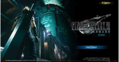 f81fd2e4c52864042852c112ce927ae2 2 384x200 - Final Fantasy 7 Remake デモ版が流出きたああああああ!!映像しゅげええええ