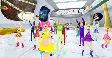 3 10 384x200 - 「スペースチャンネル5」最新作がPS VR向けに登場。26日発売