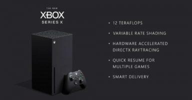 3 29 384x200 - Xbox Series Xの最新情報が公開。12 TFLOPSのGPUを搭載し,新しい機能やサービスが実装予定に。PS5完全終了か?